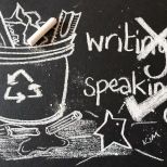 Speaking over writing in education