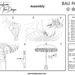 Bali Parasol Assembly Instructions